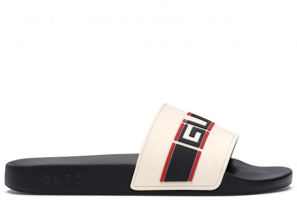 Gucci Stripe Slide White - 522884-JC200-9572