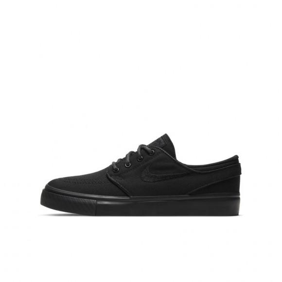 Nike SB Stefan Janoski-skatersko til store børn - Black - 525104-024