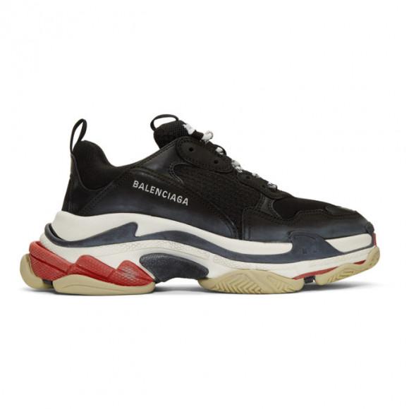 Balenciaga Black Triple S Sneakers - 533882-W09O1