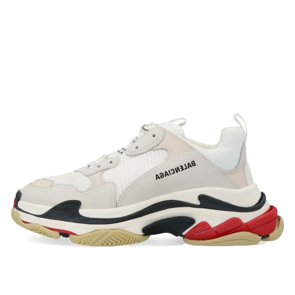 Balenciaga Triple S White Black Red - 533882W09E19000