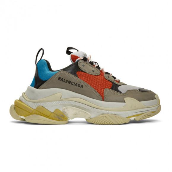 Balenciaga Multicolor Triple S Sneakers - 533883-W09O2