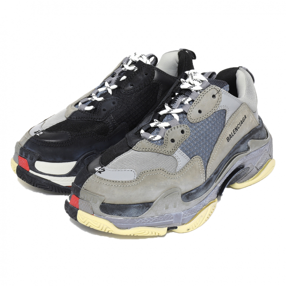 Balenciaga Triple S Split Black Grey (2018) - 533891-W09OC-1264