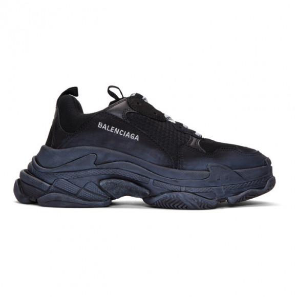 Balenciaga Black Triple S Sneakers - 534162-W09O1