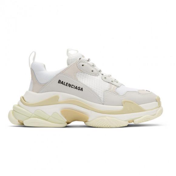 Balenciaga White Triple S Sneakers - 534217-W09E1