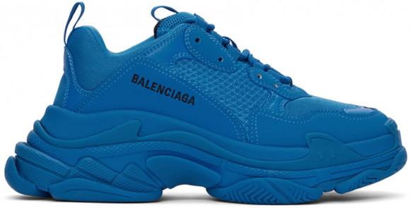 Balenciaga Blue Triple S Sneakers - 536737-W2FW1-4000