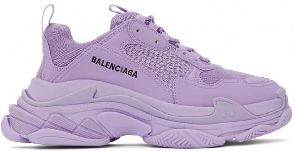 Balenciaga Purple Triple S Sneakers - 536737-W2FW1-5410