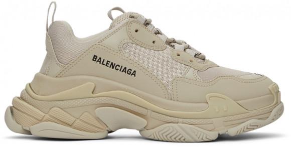 Balenciaga Beige Triple S Sneakers - 536737-W2FW1-9700