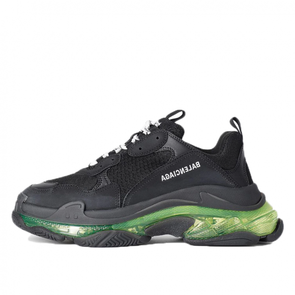 Balenciaga Triple S Black Yellow Fluo - 541624-W09ON-1047