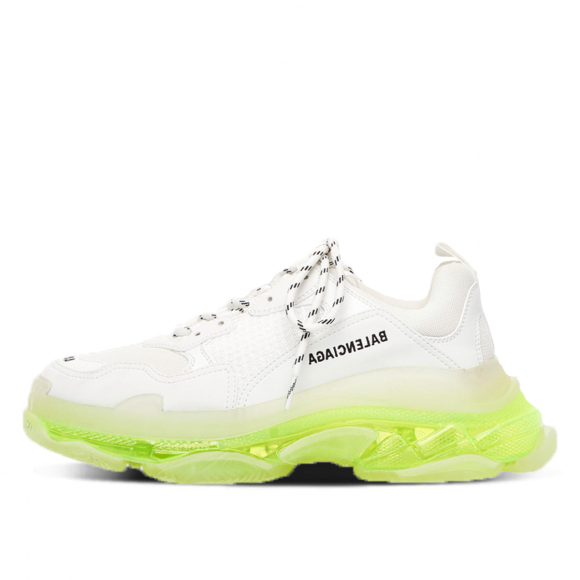 Balenciaga Triple S Clear Sole White Fluo Yellow - 541624W2FR19073
