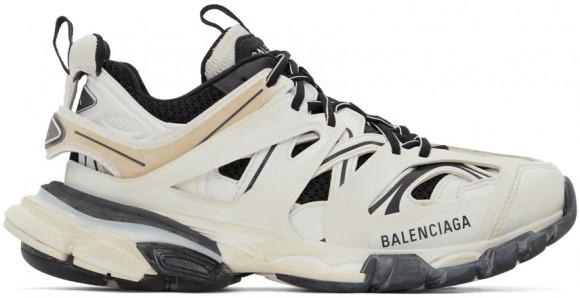 Balenciaga White & Black Track Sneakers - 542023-W1GC4-9010
