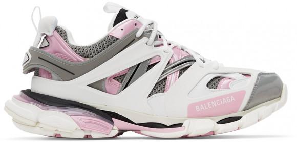 Balenciaga White & Pink Track Sneakers - 542023-W2FS9-9041