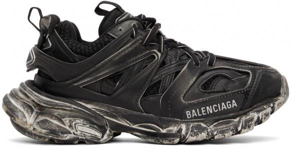 Balenciaga Black Faded Track Sneakers - 542436-W3CN2