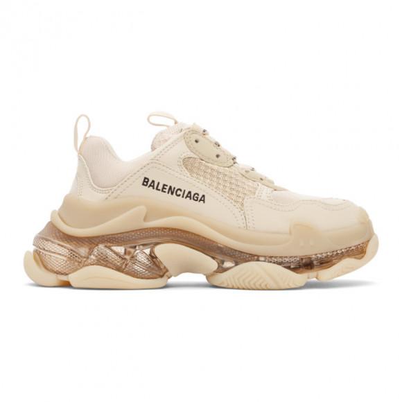Balenciaga Brown Triple S Sneakers - 544351-W2GA1