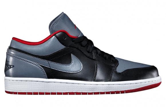 Air Jordan 1 Low Color Bred Grey - 553558-012