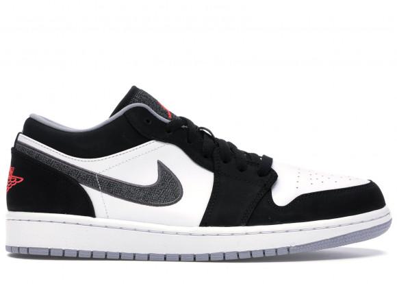 Jordan 1 Low Black White Wolf Grey Infrared 23 - 553558-029