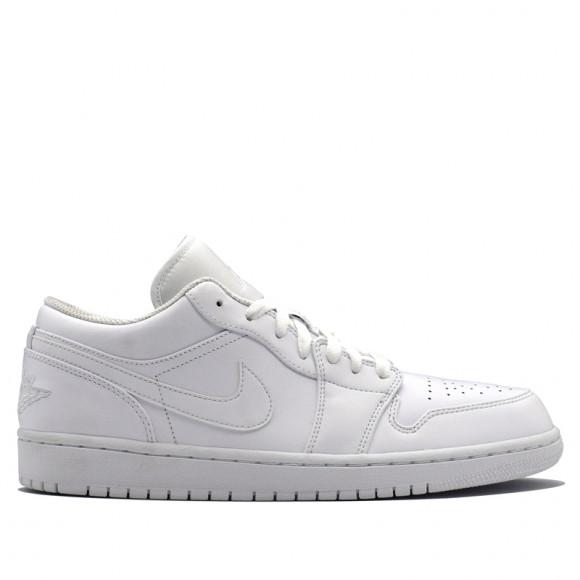 Air Jordan 1 Low White Pure Platinum 553558-170 - 553558-170