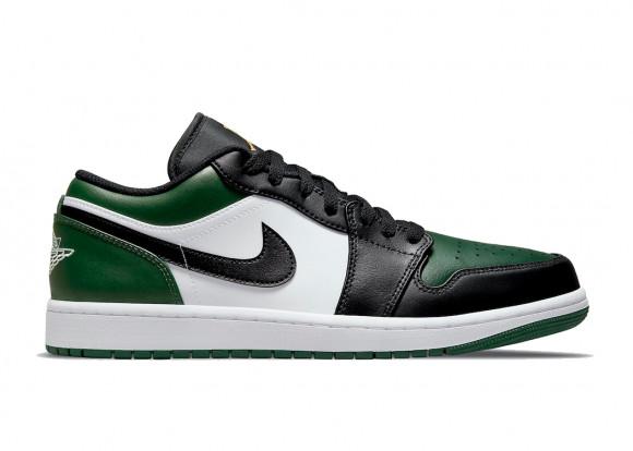 Jordan 1 Low Green Toe - 553558-371