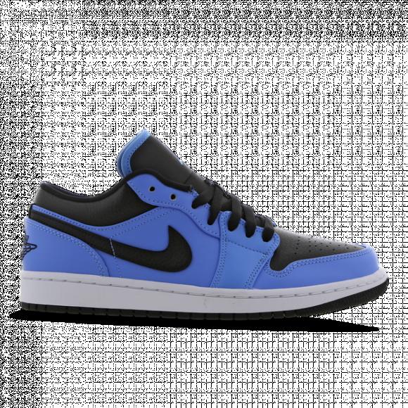 Chaussure Air Jordan 1 Low - Bleu - 553558-403