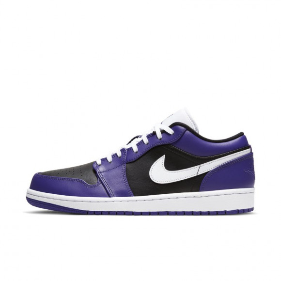 Jordan 1 Low Court Purple Black - 553558-501