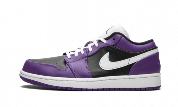 Air Jordan 1 Low Court Purple Black