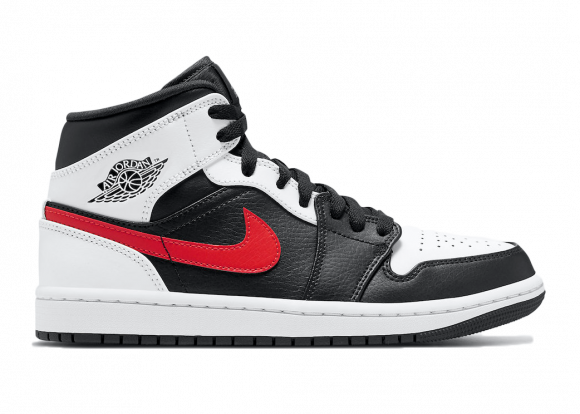 Jordan 1 Mid Black Chile Red White Noir/blanc/rouge - 554724-075
