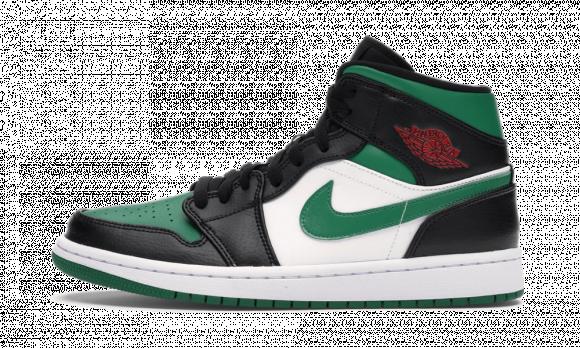 Air Jordan 1 Mid Pine Green - 554724-084
