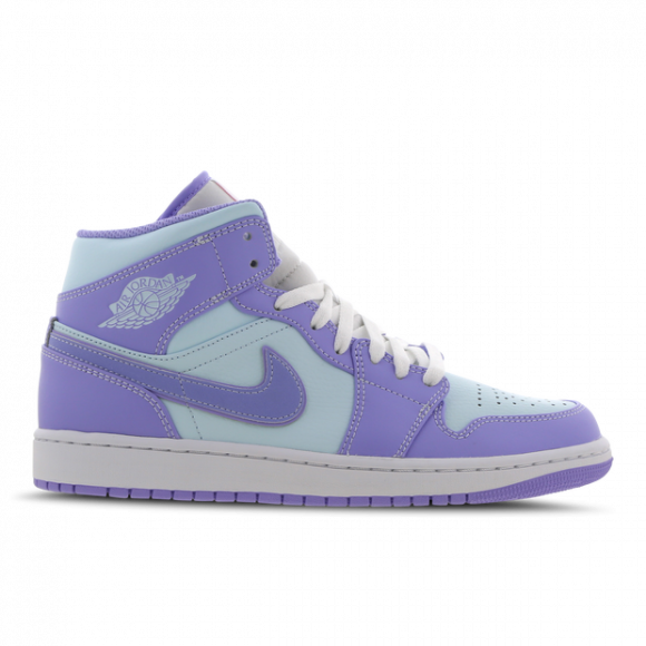 Jordan 1 Mid Purple Aqua - 554724-500