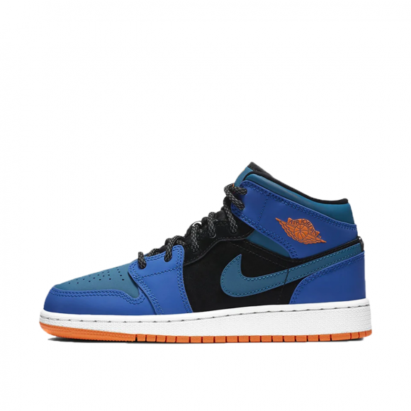 air jordan bleu orange