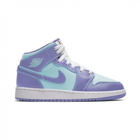 Air Jordan 1 Mid Violet/bleu - Enfant - - 554725-500
