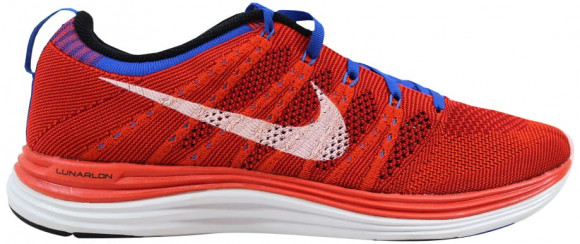 Nike Flyknit One+ Team Orange/White-Game Red-Game Royal - 554887-816