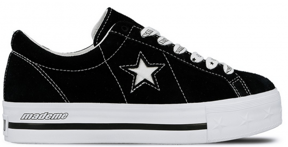 Converse One Star Platform Ox MadeMe Black (W) - 562959C