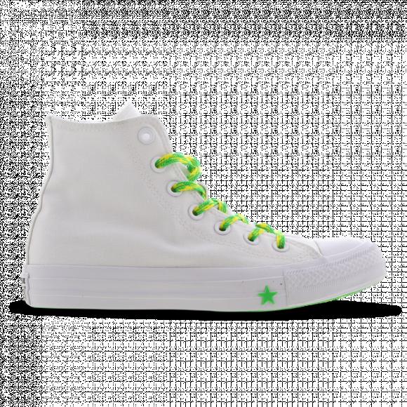 Converse Chuck Taylor All Star White/ Acid Green/ Fresh Yellow - 564123C