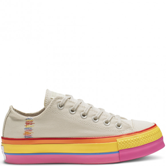 converse chuck taylor all star lift rainbow