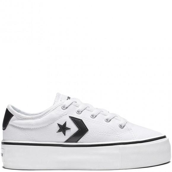 Converse Star Replay Platform Low Top Black, White - 565365C