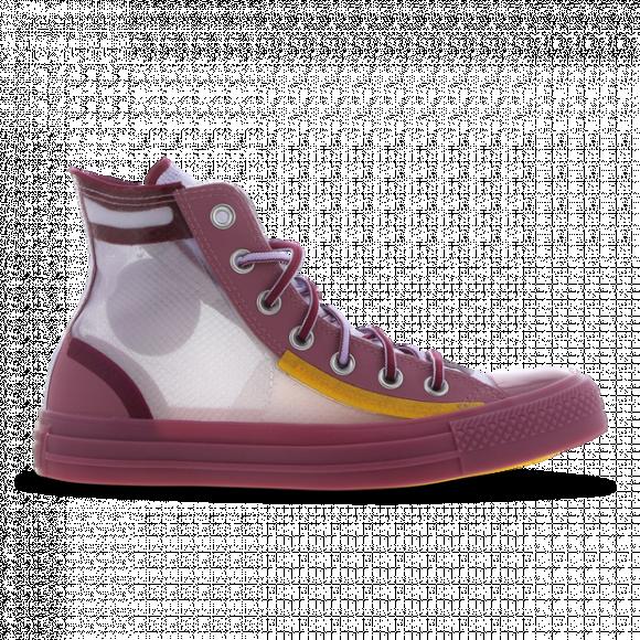 Converse Womens Converse CTAS Hi Translucent - Womens Shoes ...