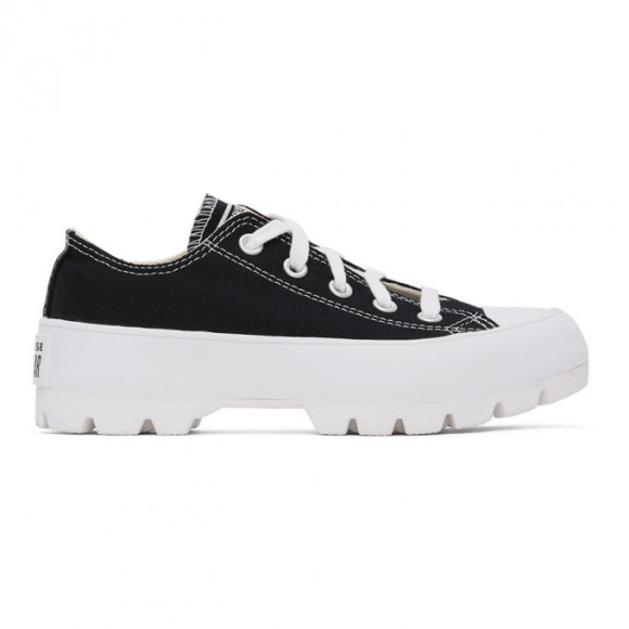 Womens Converse Chuck Taylor All Star Lo Lugged Sneaker - Black - 567681C