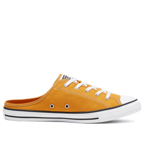 Converse Womens WMNS Chuck Taylor All Star Dainty Mule Slip 'Sunflower' Sunflower/Sunflower/White Canvas Shoes/Sneakers 567947F - 567947F