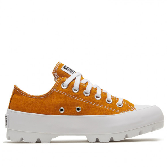 Converse Womens WMNS Chuck Taylor All Star Low 'Seasonal Lugged - Saffron Yellow' 568621C - 568621C