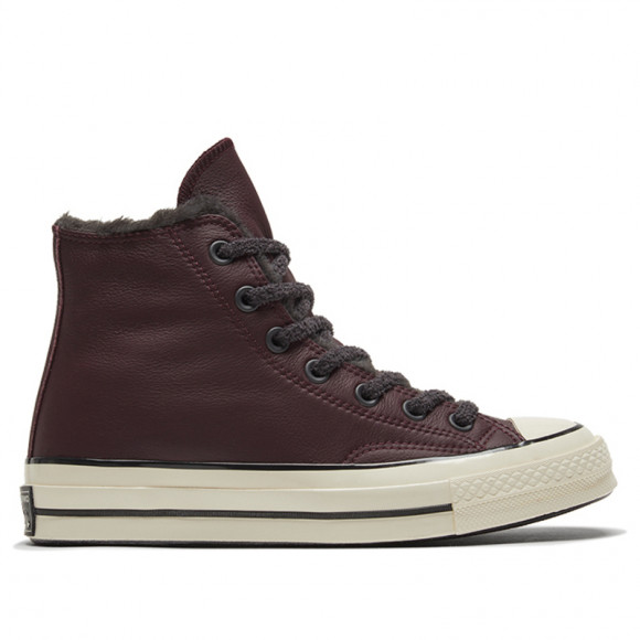 Converse Womens WMNS Chuck 70 High 'Cozy Club - Black Currant' Black Currant/Almost Black Sneakers/Shoes 569517C - 569517C