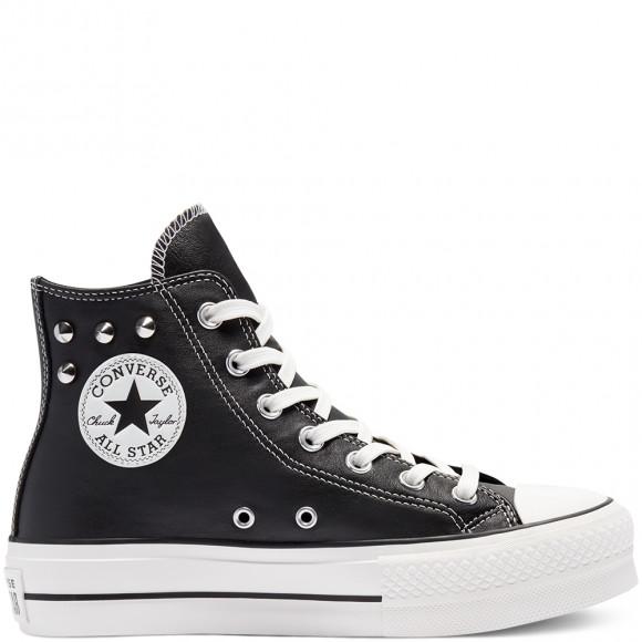 Converse Punk Progress Platform Chuck Taylor All Star High Top ...