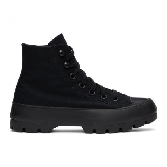 Womens Converse Chuck Taylor All Star Hi Lugged Sneaker - Black Monochrome - 569891C
