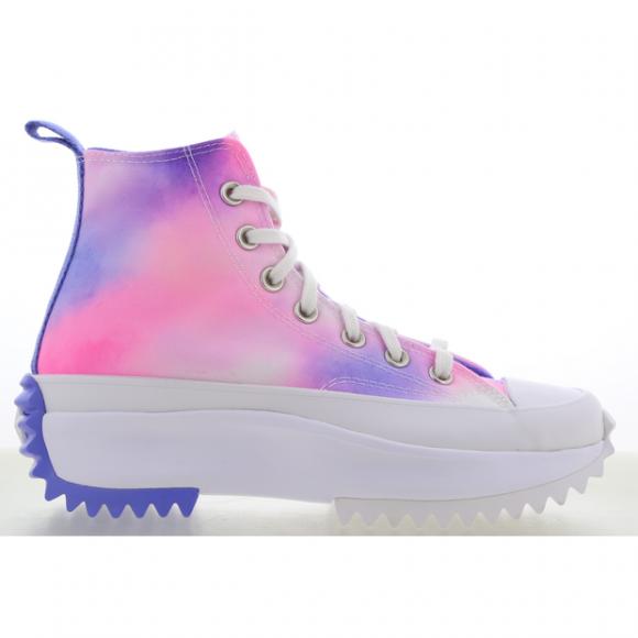 Converse Run Star Hike Platform High Top - Women's Sneaker Boots - Pink / White / Purple - 572571C