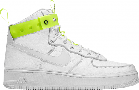 "Magic Stick x Nike Air Force 1 High ""VIP"" WhiteVolt Black"