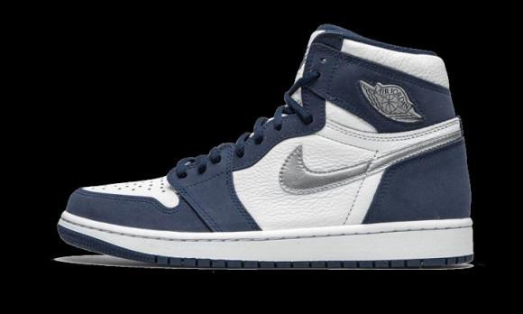 Jordan 1 Retro High Og Bg - Grade School Shoes - 575441-141