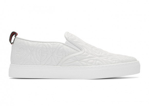 Gucci G Rhombus Slip-On White - 5988680R0B09062