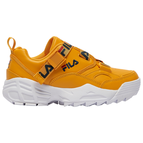 Fila Fast Charge - Women's Running Shoes - Yellow / Navy / Red - 5FM00795-732