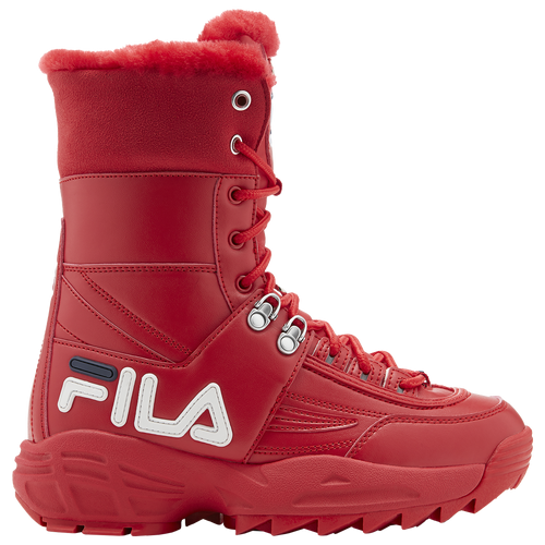 Fila Disruptor Boot II - Women's Sneakers - Red / Red / White - 5HM00560-616