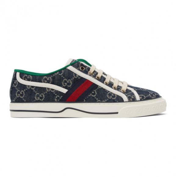 Gucci Blue Denim GG Gucci Tennis 1977 Sneakers - 606111-2KQ10