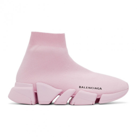 Balenciaga Pink Speed 2.0 Sneakers - 617196-W2DB1