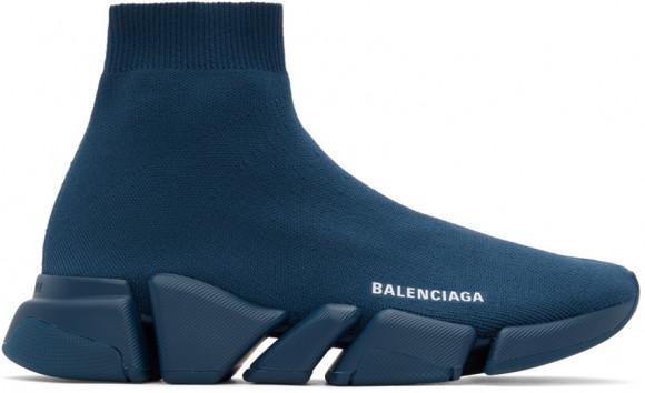 Balenciaga Navy Speed LT 2.0 Sneakers - 617239-W2DB1-4035